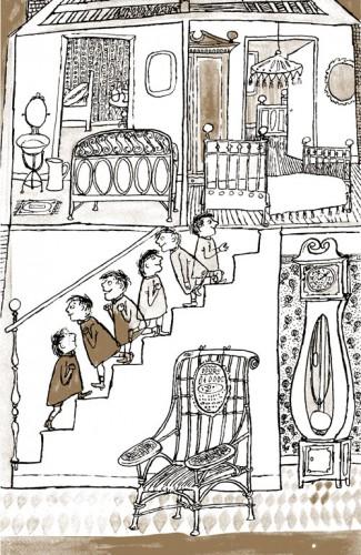 Fig. 6 : A. François, I. Harris. Le Petit Brown (1949), p.19.