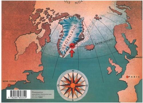 Il. 2.1. Carte du Groenland dans Apoutsiak (1948)