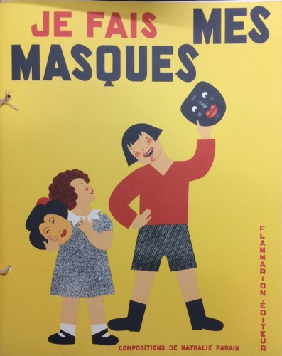 Ill.2: Couverture de Je fais mes masques (1931)