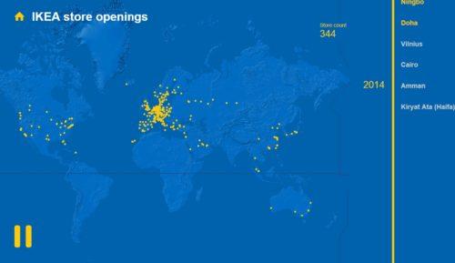 Carte Ikea Allemagne.Habiter Le Monde Selon Ikea Les Territoires De L Album